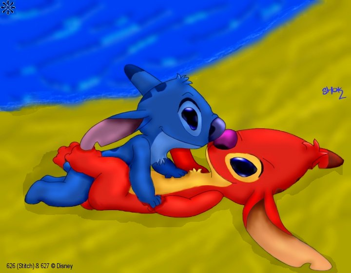 stitch lilo and Justice league royal flush gang