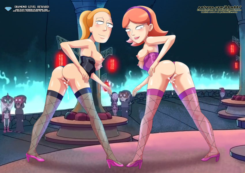 nude morty rick jessica and Paheal my little pony