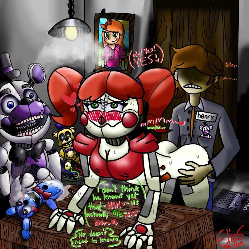 chica funtime nights five freddy's at How old is monika ddlc