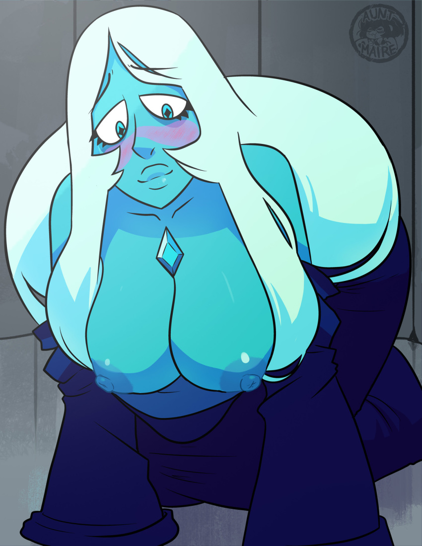 blue steven diamond from universe 002 darling in the fran
